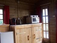 Blokhut keuken
